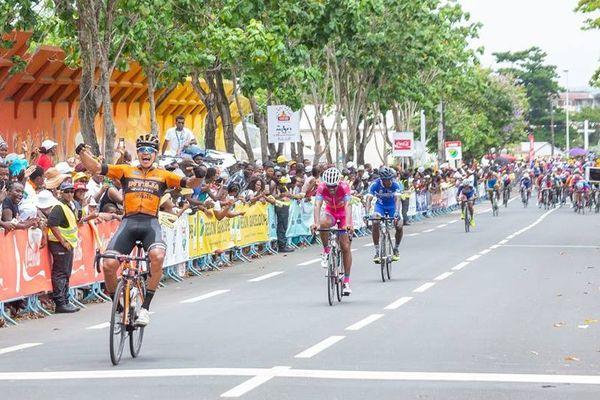Victoire Sarabia 1er tronçon 8ème étape