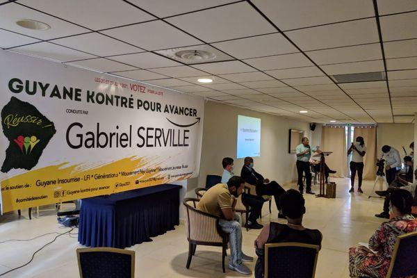 Déclaration Gabrielle Serville pour élections à la CTG