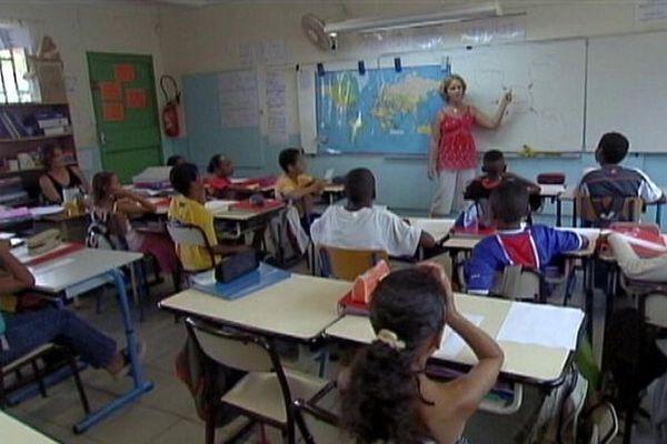 Elèves en classe