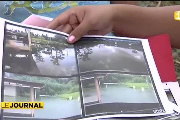 Les riverains de la route du lycée de Taravao en colère