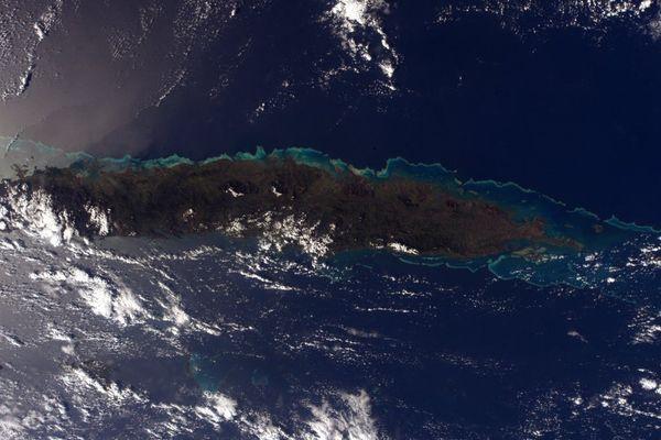 Nouvelle-Calédonie par thomas Pesquet
