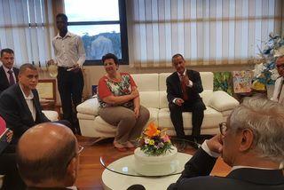 La ministre Frédérique Vidal à la CTG