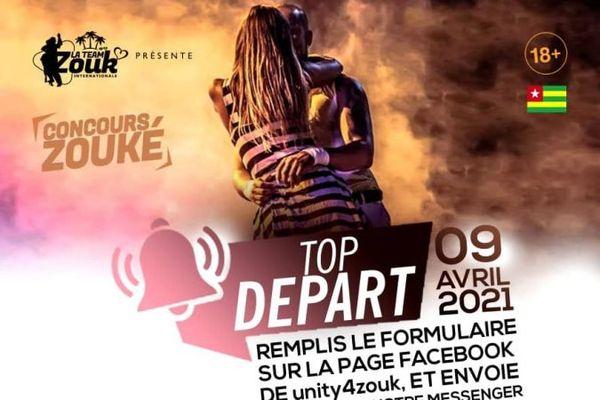 affiche concours Zouké Togo
