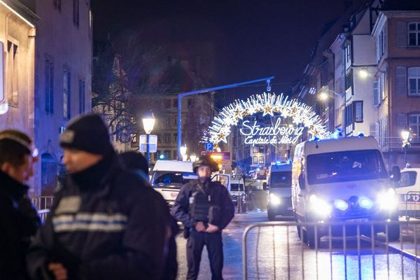 Fusillade Strasbourg