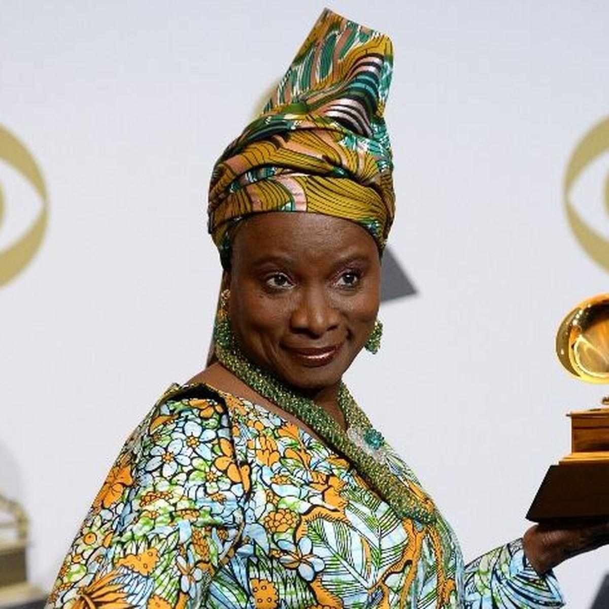 Angélique Kidjo, gagnante du Grammy Award pour le meilleur album de musique du monde
