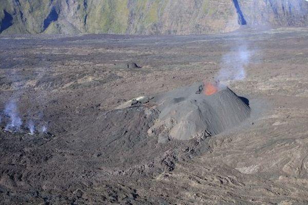 Eruption fournaise 23 février 2017