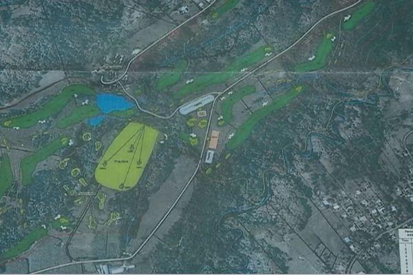 projet de golf de Petit Bourg 1
