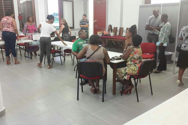 Le bureaux de vote de Matoury