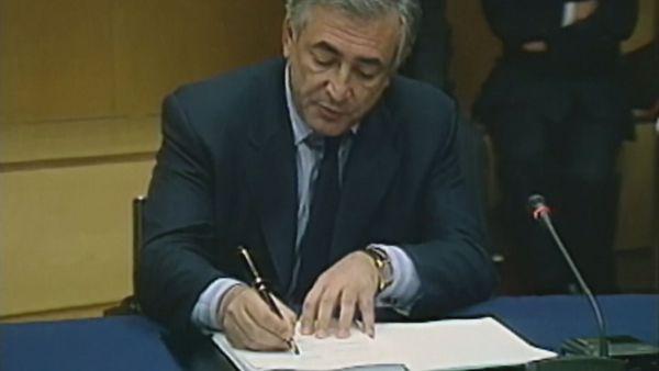 Signature accord de Bercy 1998 DSK