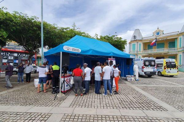 journée nationale ambulanciers Le Moule