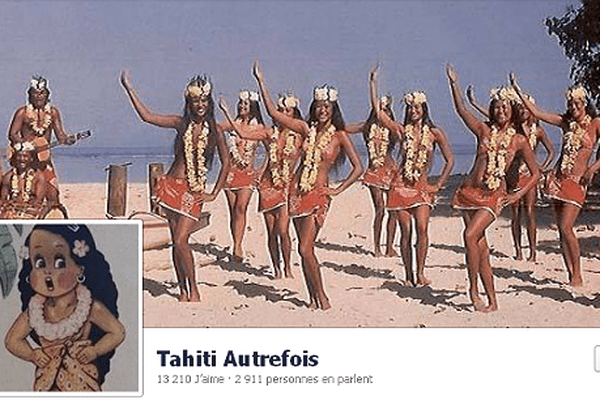 Photo du profil du compte Facebook Tahiti autrefois
