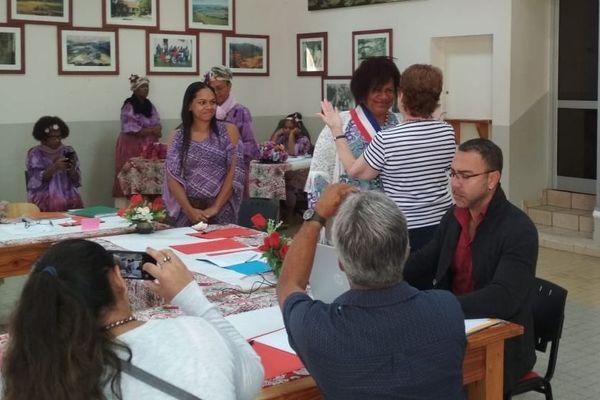 Municipales 2020 : A Poya, Yasmina Metzdorf passe le relais à Evelyne Goro-Atu, 3 juillet
