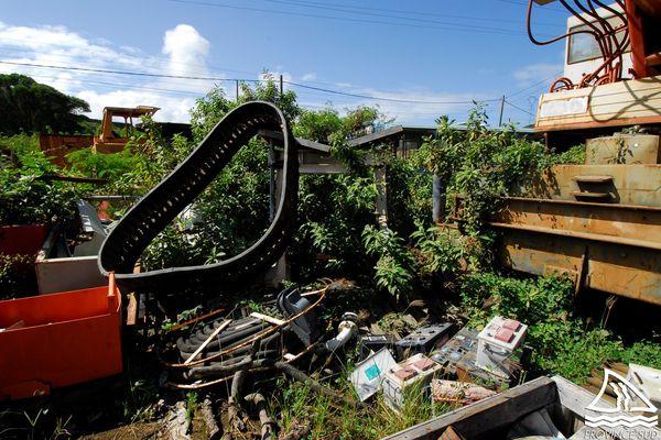 Stockage illégal de déchets à Païta