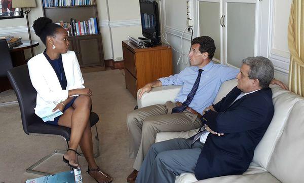 À l'Ambassade de France au Panama