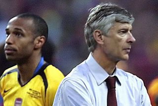 Thierry Henry Arsène Wenger