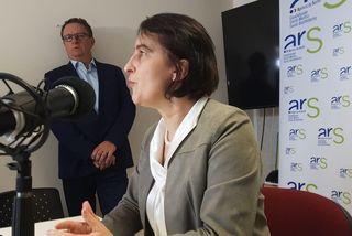 Valérie Denux directrice générale de l'ARS Guadeloupe, Saint Barthélemy et Saint Martin