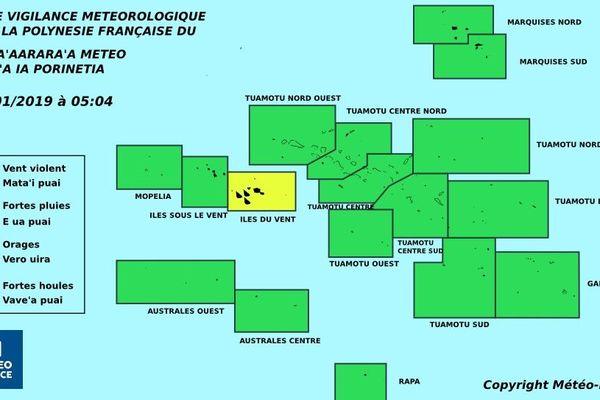 Météo : de fortes pluies aux Îles du Vent