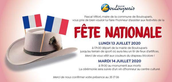 14 juillet Boulouparis