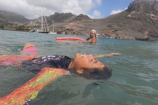 test aisance à nager