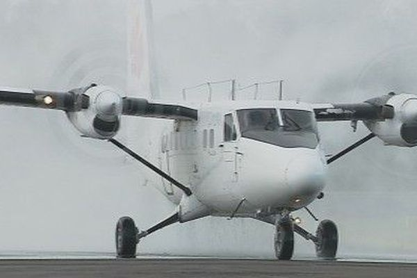 Avion twin Otter Manulele