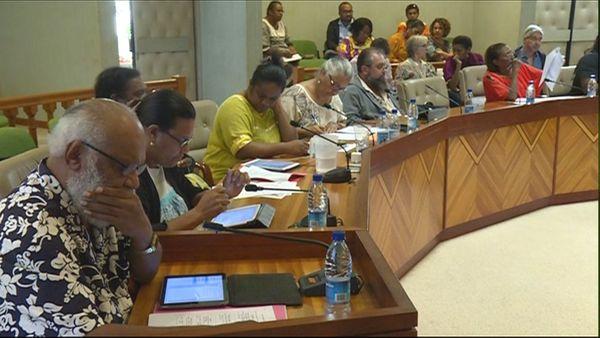 Assemblée de province Nord, élection des commissions, 12 juin 2019