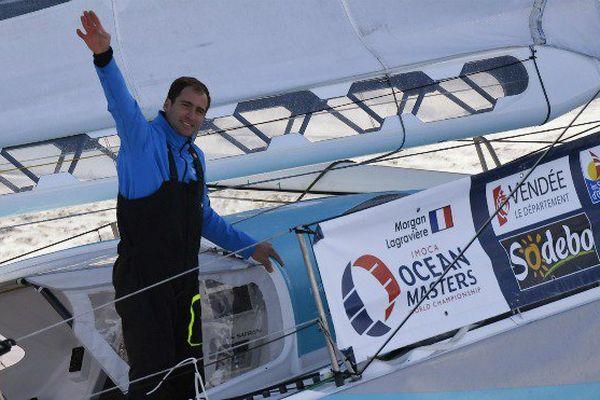 Vendée Globe : Après un bon début de course, le Réunionnais Morgan Lagravière pointe à la 5e place