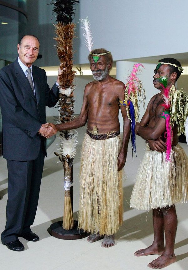 Chirac inauguration MQG Vanuatu