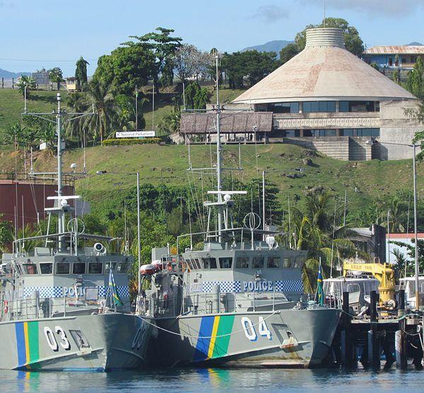 Salomon. Honiara. Parlement