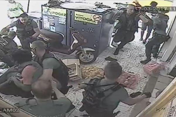 Arrestation musclée à Port Louis