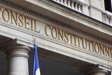 Façade du Conseil constitutionnel