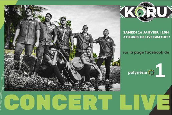 Concert Koru