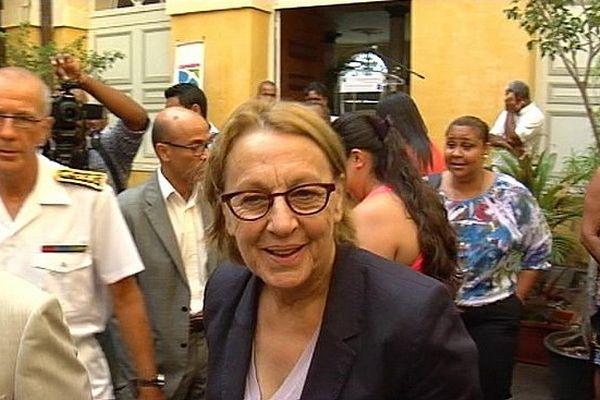Visite ministérielle : Marylise Lebranchu
