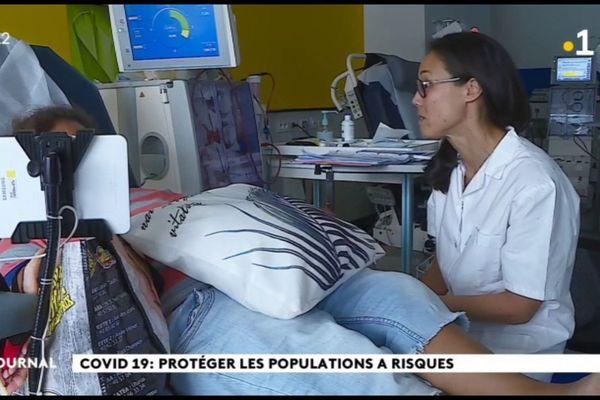 Coronavirus : le centre d'hémodialyse se prépare