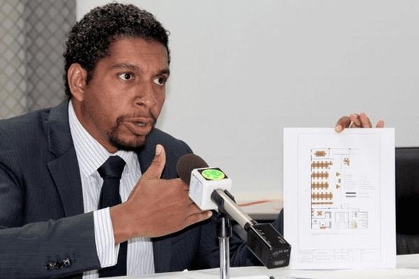 Camillo Gonsalves, ministre du developpement durable à St. Vincent et les Grenadines