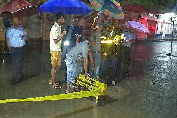 Inondations à l'île Maurice