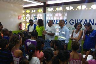 DAAC Guyane et Ciment Guyanais unis pour la rentrée des enfants