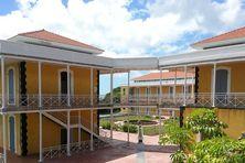 Campus du Camp Jacob, à Saint Claude, l'un des sites de l'UA.