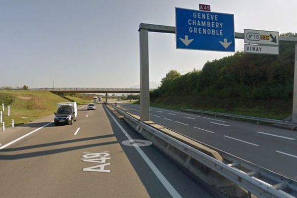Autoroute Lyon Grenoble