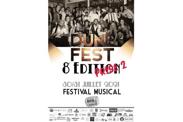 L'affiche du Dunefest 2021