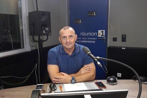 Vincent Pardoux secrétaire du syndicat FO-Pénitentiaire à La Réunion.