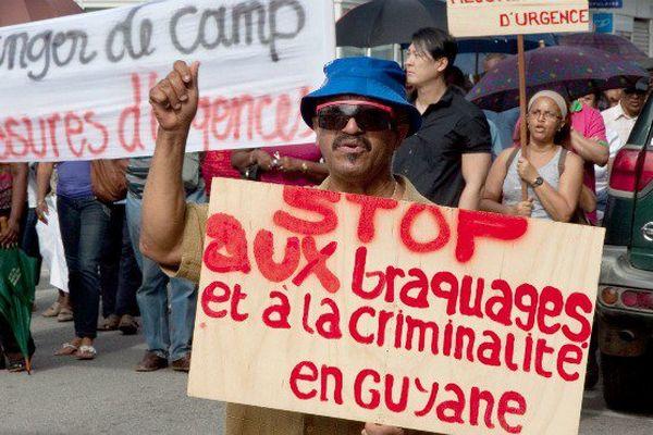 La Guyane est le département français le plus touché par la violence