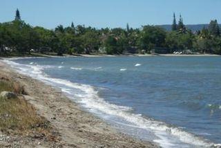 plage de foué polluée