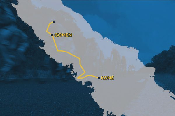 étapes Tour Air france 2019 : Gomen Koné