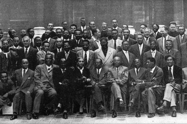 Premier congrès international des écrivains et artistes noirs à paris en 1956