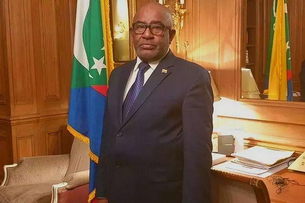Azali Assoumani, président des Comores