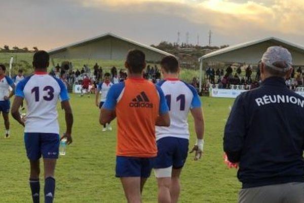 Les rugbymen de La Réunion repartent avec la médaille d'or après leur défaite face à Madagascar.