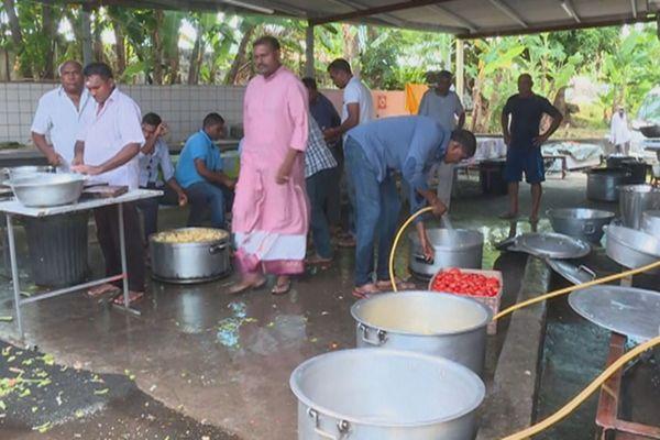 Les préparatifs du Cavadee sont lancés au temple du Ti Bazar de Saint-André