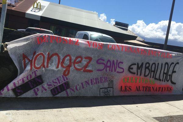 Une opération coup de poing a été menée ce samedi 7 septembre, sur le parking d'un fast-food de Saint-Pierre.