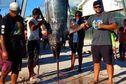 Un big mama de 326 kg pêché à Arutua