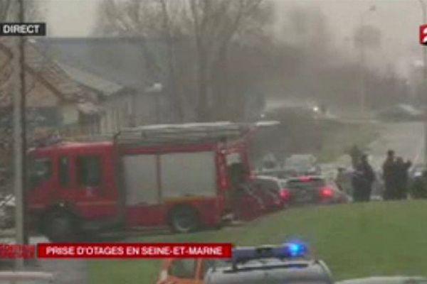 Prise d'otages en Seine et Marne